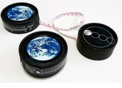 親子天文教室 地球と月のメジャーボックス工作